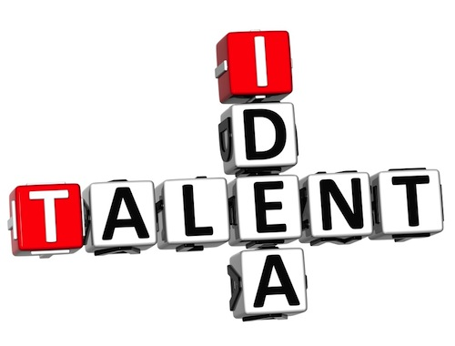 Talent/Idea crossword