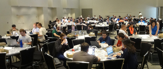 DrupalCon code sprint photo
